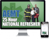 25 Hour AEMT NCCP National Refresher Course Online