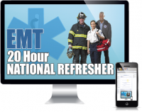 20 Hour EMT NCCP National Refresher Course Online