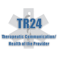 TR24 - Health and Well-Being of the Provider/Therapeutic Communication