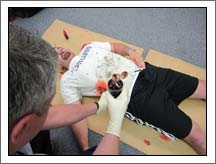 moulage for trauma assessment