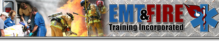 EMT & Fire Training header