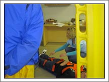 emt backboard training